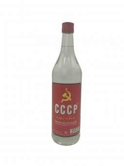 CCCP Pure Vodka 1,0l Glas