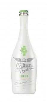 """GLITTER & GOLD flavoured Secco """"Hugo"""" 0,75l Glas"""