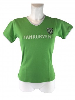 "Girlie -Shirt ""Fankurven"""