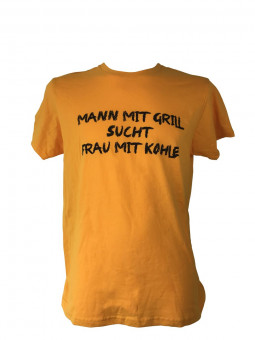 "T-Shirt ""Mann mit Grill..."""