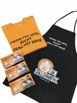 "SHIRT-PAKET ""Mann mit Grill..."""