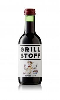 GRILLSTOFF Wein rot
