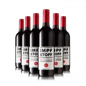 6 Flaschen IMPFSTOFF Wein rot