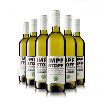 6 Flaschen IMPFSTOFF Wein weiß