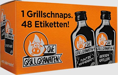 Die Grillgranaten - 12er Box